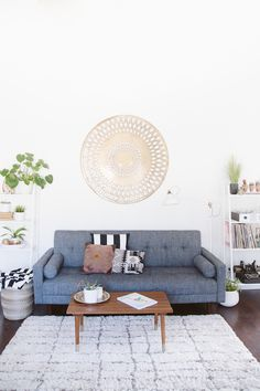 An eclectic home in sunny California