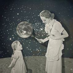 """Repeat after me : """"We are the universe"""" ."""