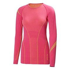 Helly Hansen Womens HH Dry Revolution Long Sleeve Top Magenta Medium ** Want to know more, click on the image.