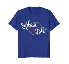 Softball Y'All Shirt Softball Player Gift Men Women Kid M... https://www.amazon.com/dp/B07BXYHB6F/ref=cm_sw_r_pi_dp_U_x_rVu3AbGCKTFS9. Show off your love for softball with this awesome tee. So comfortable for everyday wear and super stylish Great gift for softball player, softball mom, softball dad, softball coach to wear to the games and practices at the softball field.