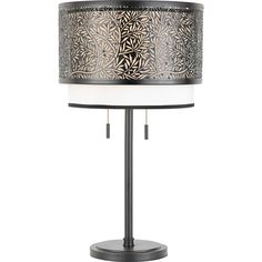 Save 10% off when you buy online. Use coupon code PIN10OFF0912 - Free shipping on orders over 49 dollars.    Hansen Lighting in Orem, Utah, United States, Quoizel 6YCC, Two Light Black Table Lamp, Utopia, Black