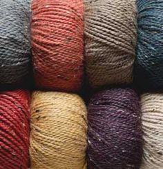($8.59/ball) Knitpicks City Tweed Aran/HW Yarn (I can see yummy sweaters and socks in this yarn)