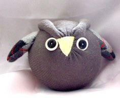 Osbert The Sock Owl