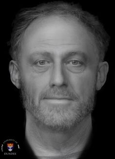 You're staring into the eyes of a man who lived in England during the 13th century, thanks to a digital facial reconstruction superimposed over what survives of his ancient, 700-year-old remains.