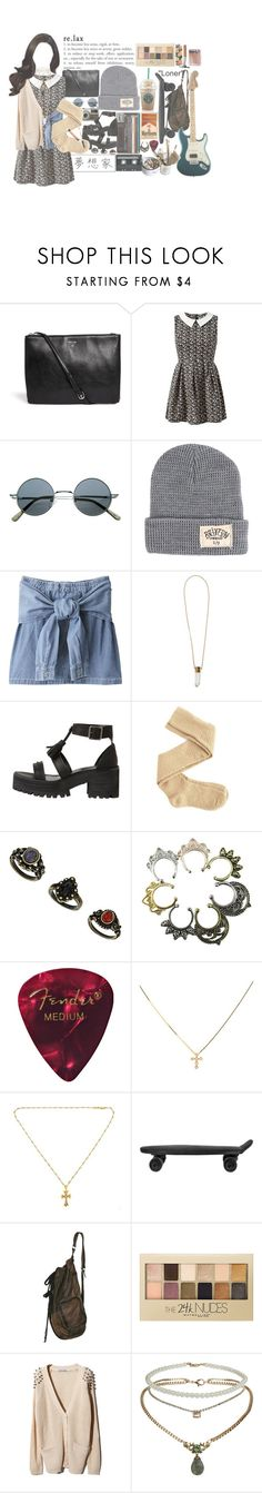 """""""D-o-l-l-h-o-u-s-e i see things that nobody elses sees"""" by headbangingunicorn ❤ liked on Polyvore featuring Matt & Nat, Mela Loves London, Brixton, Chloé, Charlotte Russe, CASSETTE, Chrome Hearts, BoConcept, Maybelline and GHETTO FAB"""