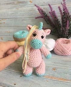 Crochet Toys, Crochet Animals, Pony, Dinosaur Stuffed Animal, Hats, Inspiration, Amigurumi Toys, Unicorns, Free