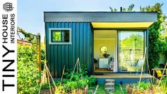 Beautiful Funky Loft Blue Eco-Cabin with an Organic Herb and Veg Garden . Eco Cabin, Tiny House Family, Deck Seating, Front Deck, Interior Work, Veg Garden, Organic Herbs, House Interiors, Mountain View