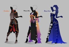 Outfit design - Months - 4 - closed by LotusLumino on DeviantArt