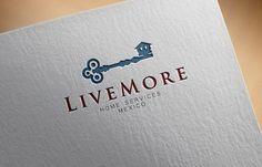 LIveMore.MX Logo for Luxury Real Estate Broker by Neispavan