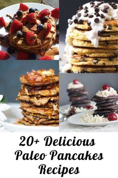 Looking for delicious Paleo Pancakes recipes? Look no further! There's 20+ right here!