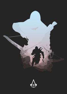 Assassin's Creed Hidden Blade, Assassin's Creed Black, Assassins Creed Rogue, Assassin's Creed Wallpaper, Negative Space Art, All Assassin's Creed, Arte Ninja, Motorcycle Wallpaper, Lego Pictures