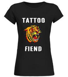 Tattoo Fiend Tiger Tshirt