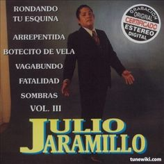 "-- #LyricArt for ""Fatalidad"" by Julio Jaramillo"