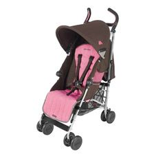 Maclaren® Quest Sport Stroller - Coffee Brown and Carmine Rose-buybuy BABY