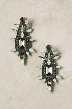 Minted Jade Drop Earrings
