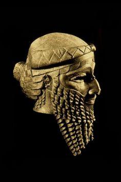 Akkadian sculpture -  Mesopotamia, 2350 to 2000 BCE