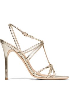 Anita metallic leather sandals | Halston Heritage | US | THE OUTNET
