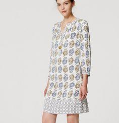 Jardin Henley Shirtdress | Loft