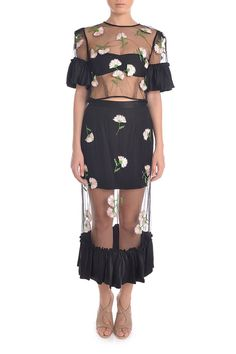 alice McCALL Floral Learning To Fly Top And Skirt  $235.00