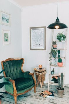 Beautiful green corner inspiration for your home