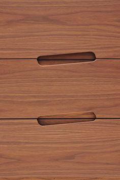 Walnut sideboard with drawers MALIBÙ | Sideboard with drawers - @morelatosrl