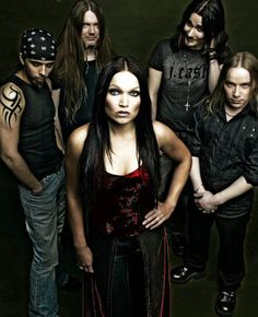 Nightwish - Nightwish are one of the first Symphonic Metal bands and with that being said they are arguably the greatest band of this genre.
