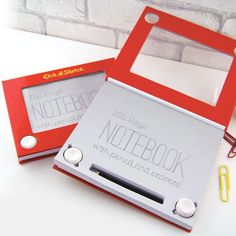 Etch A Sketch notitieboek