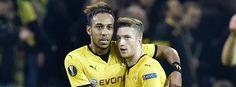 Euroleague 2015/16: Dortmund - Qäbälä 4:0 - BVB-Profis Reus und Aubameyang: Lockerer Erfolg gegen FK Qäbälä