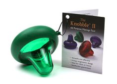 The Knobble for trigger point massage >>tension headaches #thingsthatonlyLOOKlikesextoys