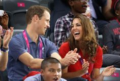 Lady Louise Windsor Sits Next To Kate Middleton & Prince William At Paralympics Cycling