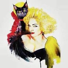 Madonna Artwork @santinyc #ExpressYourself