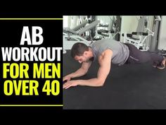 This full ab workout for men over 40 works all of your abdominal muscles and is a great way to build a strong core. 30 Minute Ab Workout, Full Ab Workout, Top Ab Workouts, Killer Ab Workouts, Effective Ab Workouts, Abs Workout Video, Six Pack Abs Workout, Abs Workout For Women, Ab Exercises