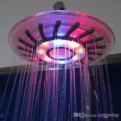 Wholesale Wall Mount Rainfall overhead Showerhead Shower Head with Build-in LED Light 4 Mixed-color H4742, Free shipping, $21.02/Piece | DHgate Mobile