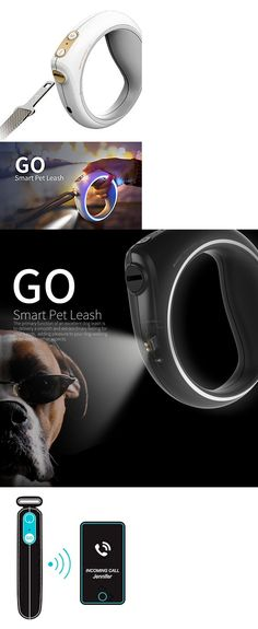 Leashes and Head Collars 146247: Petkit Smart Dog Walking Leash With Handle Supports Walking Route Record Cellp -> BUY IT NOW ONLY: $117.95 on eBay!