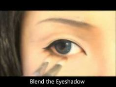Tutorial : Anime Eye Makeup 24