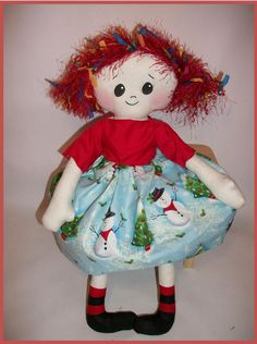 Free Rag Doll Patterns | Sew Cute Patterns: Rag Doll Sewing Pattern - Rag Doll Tessie