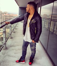 #JoeHaden wearing Air Jordan 1 Bred. One of the most fashionable fellas in the game. Really admire this guys fashion sense #tastemaker shout out #joehaden