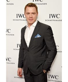 """The luxury Swiss watch brand celebrated its third annual """"For The Love Of Cinema"""" dinner during the Tribeca Film Festival in New York City—see pictures from the star-studded soirée. Pictured: Diego Klattenhoff"""