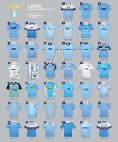 E tu quale scegli? Ss Lazio, Classic Football Shirts, Soccer World, Football Kits, Shirt Shop, World Cup, Sport, Instagram, Club