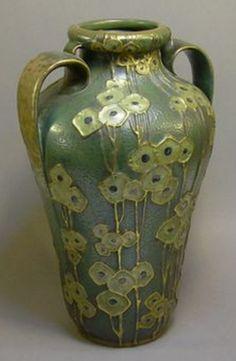 ◭ Penchant for Pottery ◮  Batchelder vase, 1920s