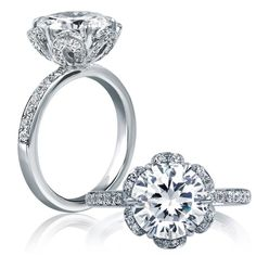 A. Jaffe Engagement Rings for Every Era