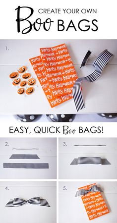 DIY BOO BAGS | Host