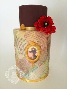 Remembering our Anzacs - Bec's Fabulous Fondants - Cake by Bec's Fabulous Fondants