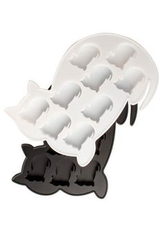 Kitty ice cube tray