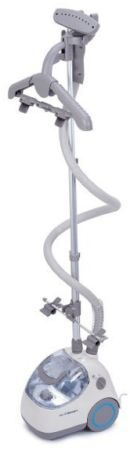Elite Garment Steamer By PurSteam, Heavy Duty Powerful Fabric Steamer with Fabric Brush and Garment Hanger