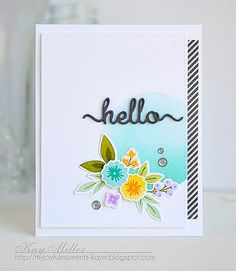 KayM-Hello | Created with Fresh Cut Florals from WPlus9 myjo… | Flickr - Photo Sharing!