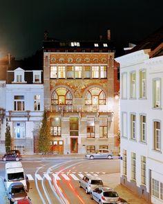 Hôtel Ciamberlani - Paul Hankar - Bruxelles - 1987