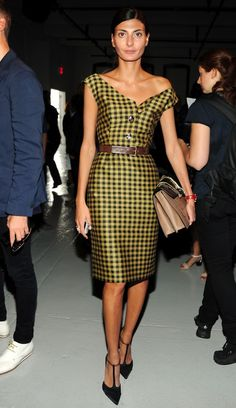 Giovanna Battaglia  -cute dress. Street style