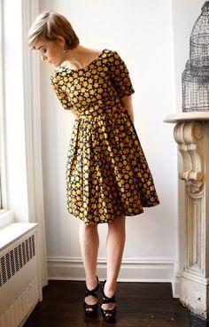 The Head Turner Dress. $190.00, via Etsy.    www.wearejuxtapose.com