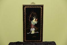Pair of Oriental Plaques by ifoundthat on Etsy, $45.00
